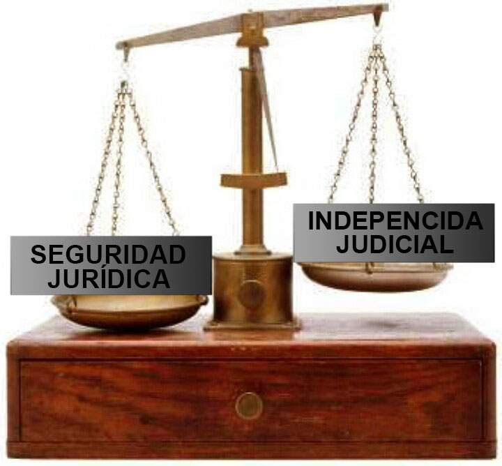 Independencia Judicial vs Seguridad Jurídica
